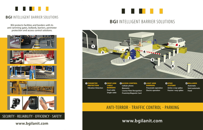 BGI Intelligent Barrier Solutions Posters