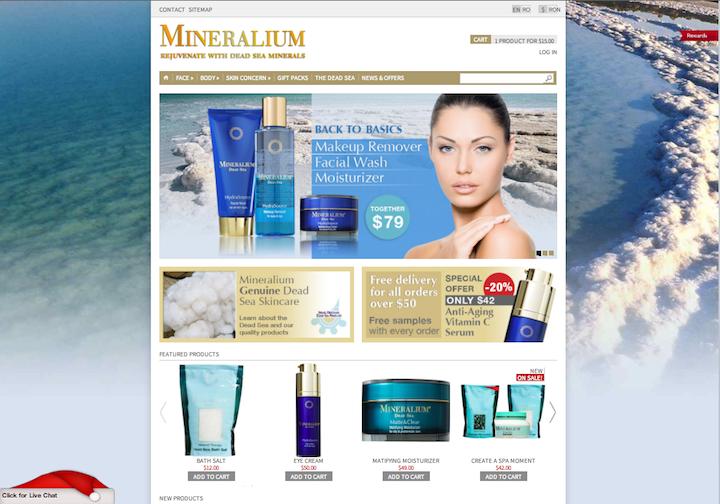 Mineralium Web Site